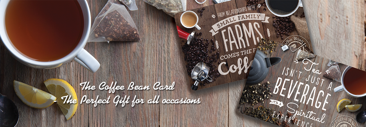Buy The Coffee Bean Card